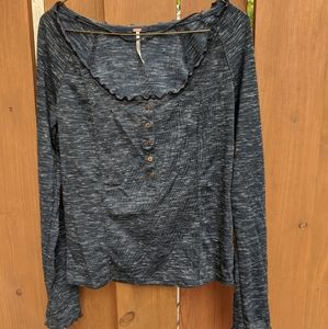 Free people roxy long sleeve top